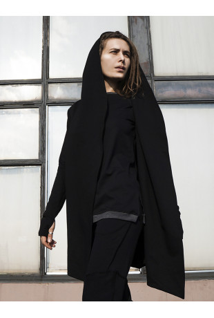 Мантия с капюшоном Black