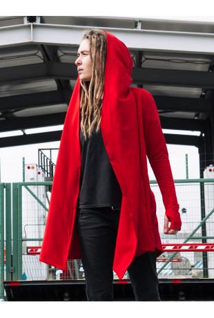 Мантия с капюшоном Red женская
