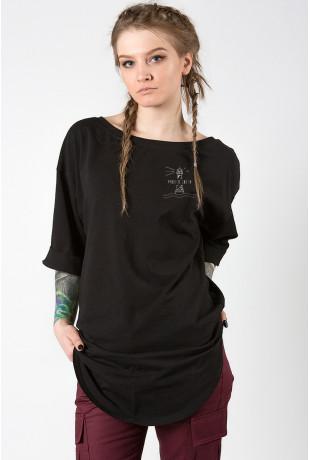 Удлиненная футболка Black Свети