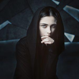 Мантия Black женская